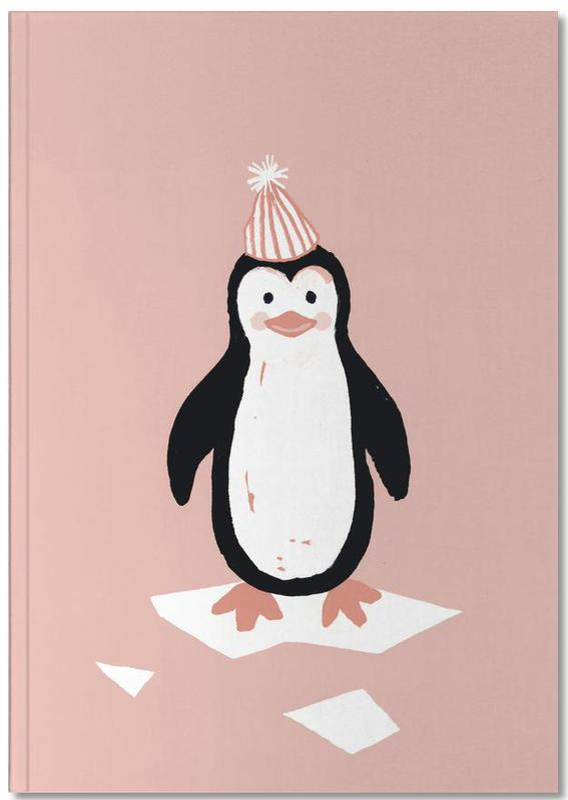 Nursery & Art for Kids, Penguins, Christmas, This Winter 08 Notebook