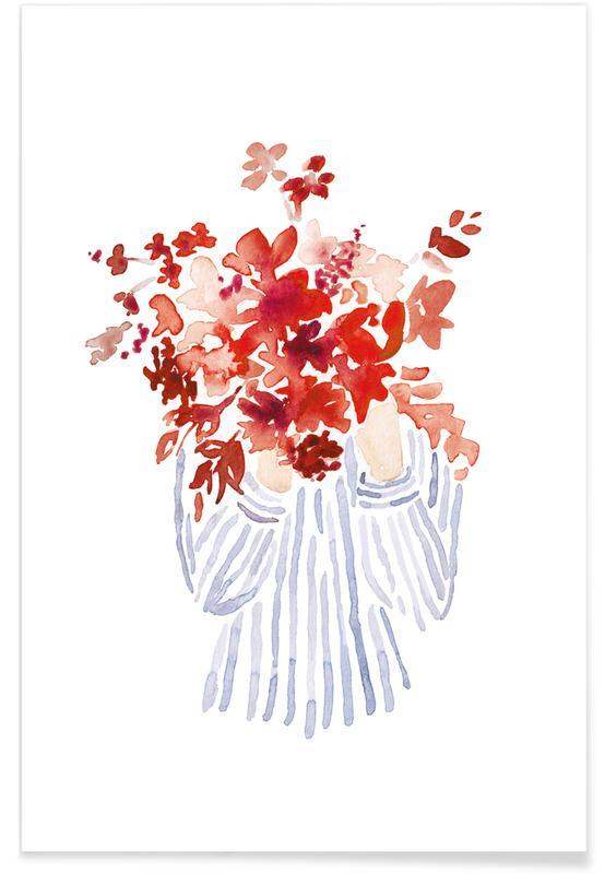 Körperformen, Flowergirl 7 -Poster