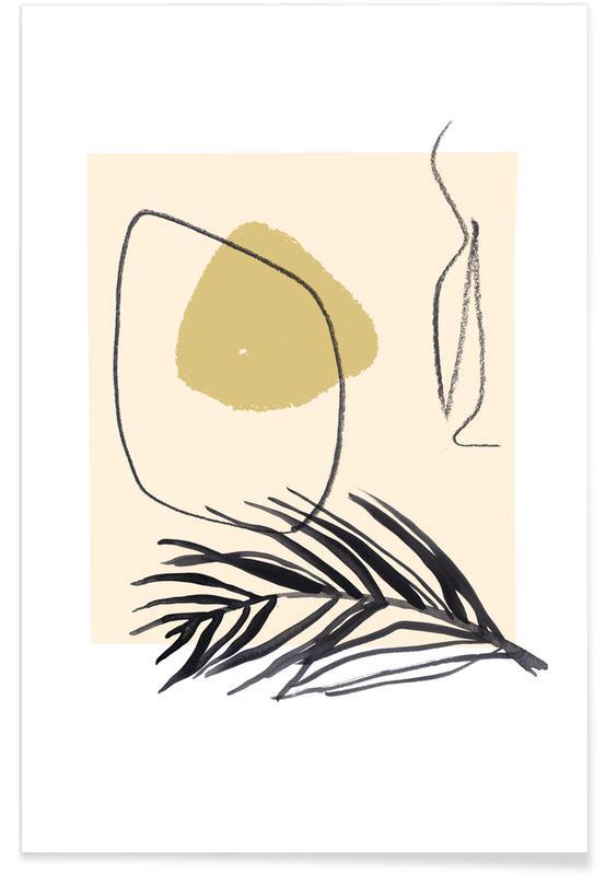 Feuilles & Plantes, Plants and Vases 11 affiche