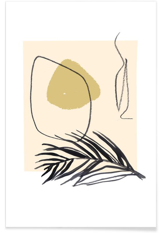 Blätter & Pflanzen, Plants and Vases 11 -Poster