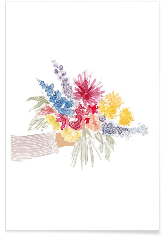 Body close-ups, Bouquet all colours poster
