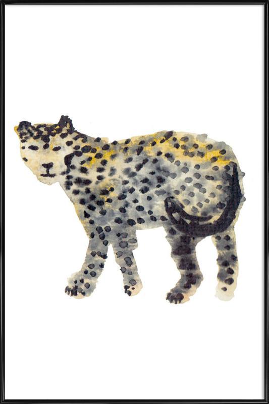 Leopard I Framed Poster