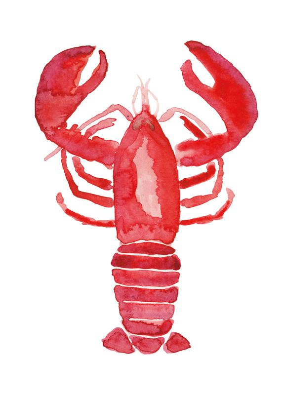 Lobster -Leinwandbild