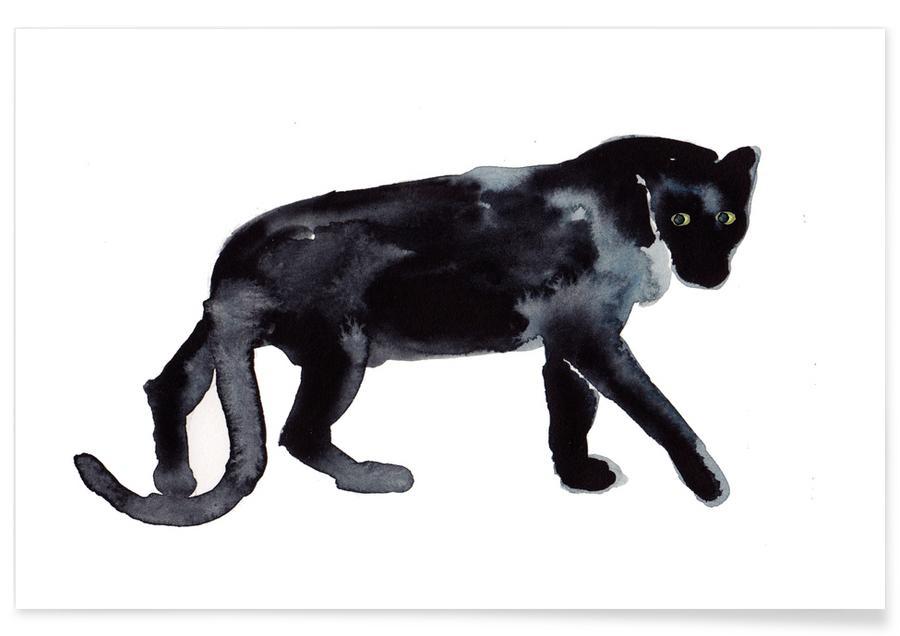 Kunst voor kinderen, Panther poster