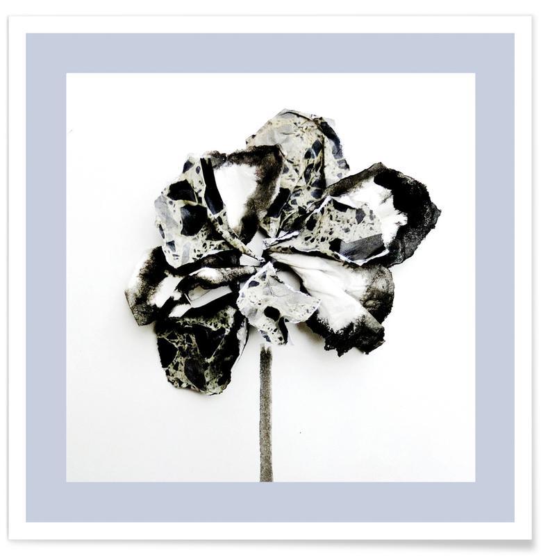 Paper Flower I Poster