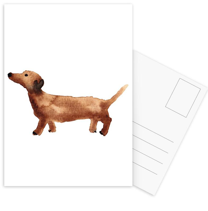 Sausage Dog Postcard Set