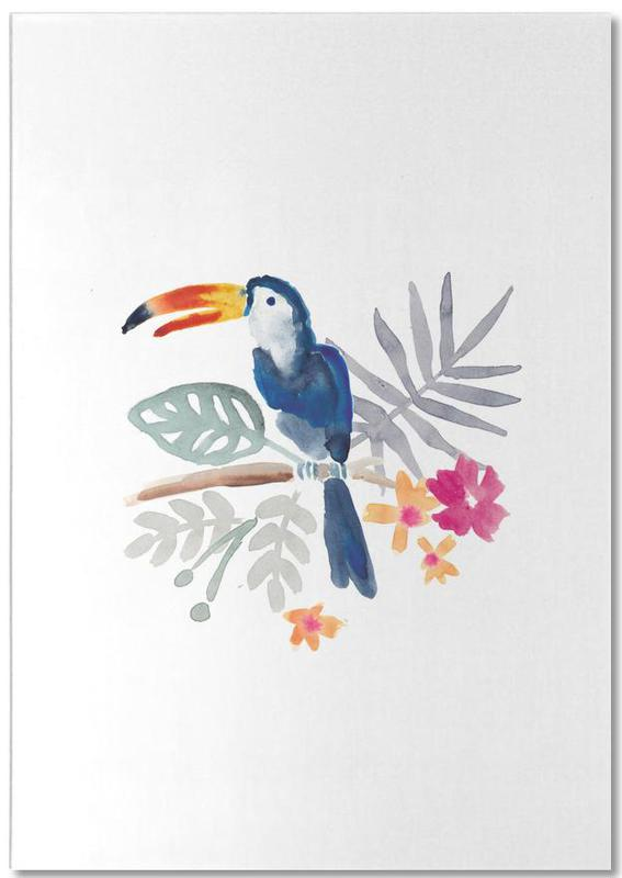 Toucan Jungle -Notizblock