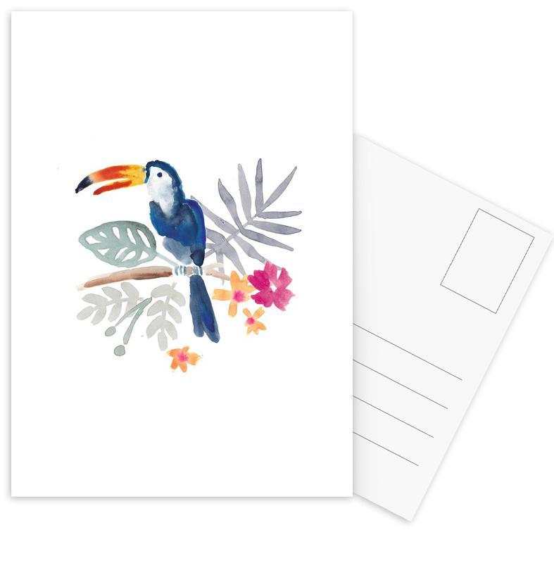 Toucans, Toucan Jungle cartes postales