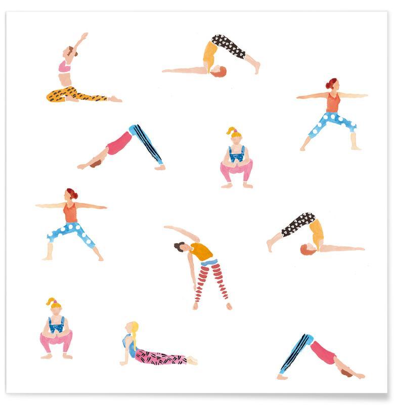 Yoga, Yoga People -Poster