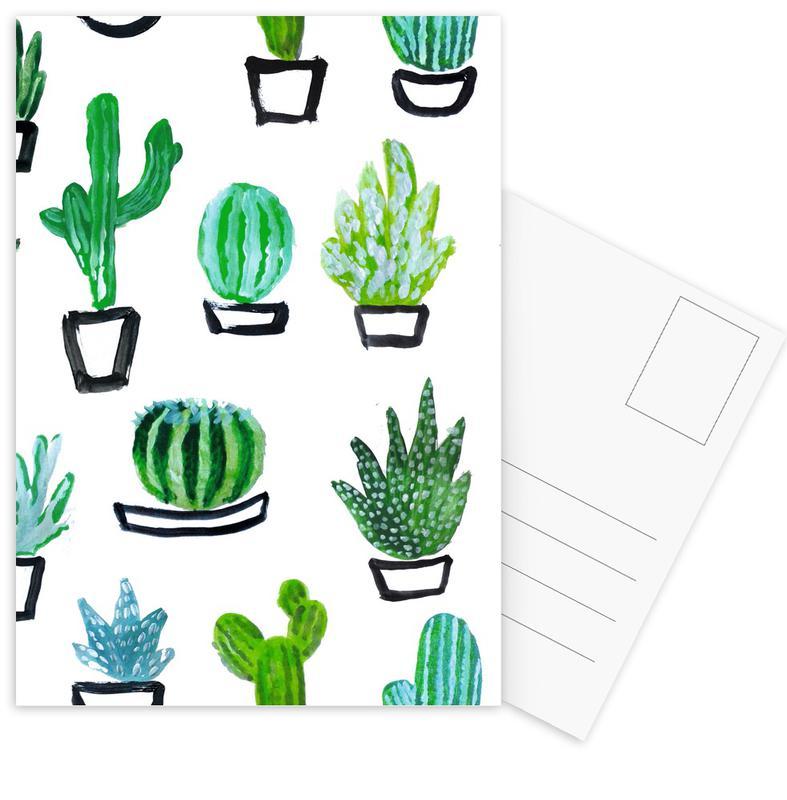 Cacti Postcard Set