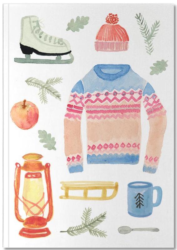 Christmas, Winter Notebook