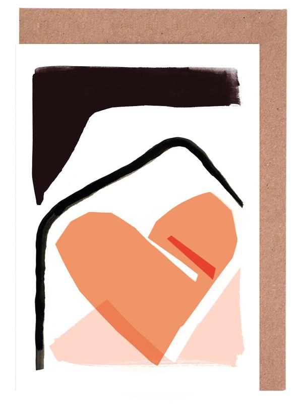 Abstract Love 02 Greeting Card Set