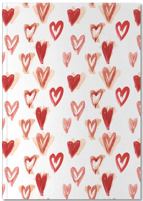 Raining Hearts Notebook