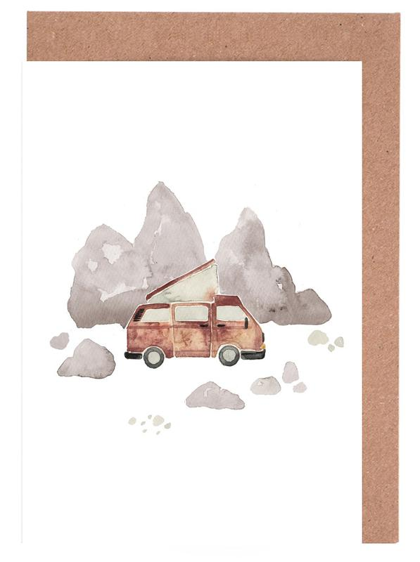 Adventure Van Rocks Greeting Card Set