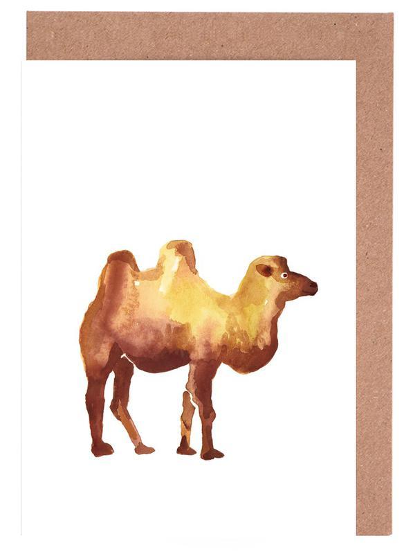 Camel Greeting Card Set