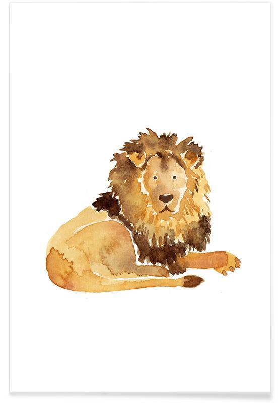 Lion affiche