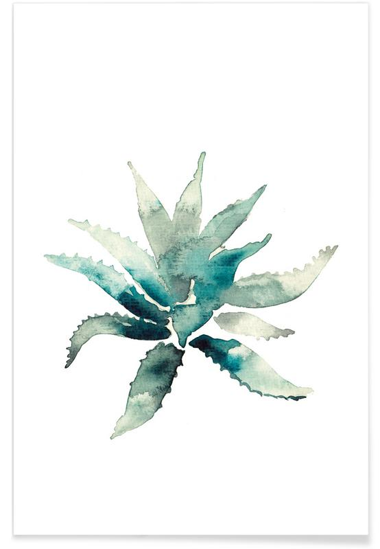 Cacti, Agave Poster