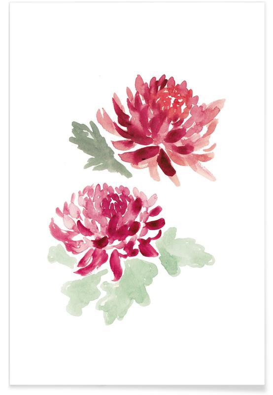 Chrysanthemum affiche