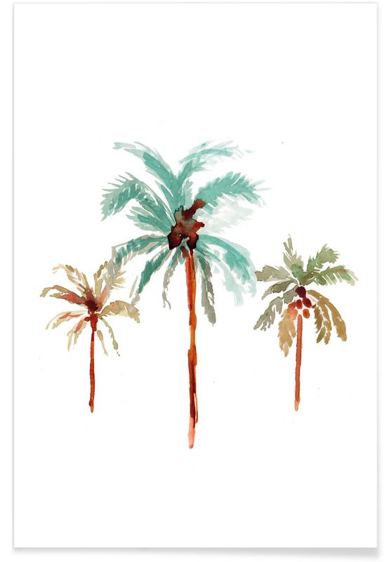 Palm Tree 1 Poster