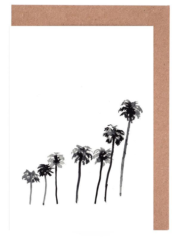 Palm Tree 2 Greeting Card Set