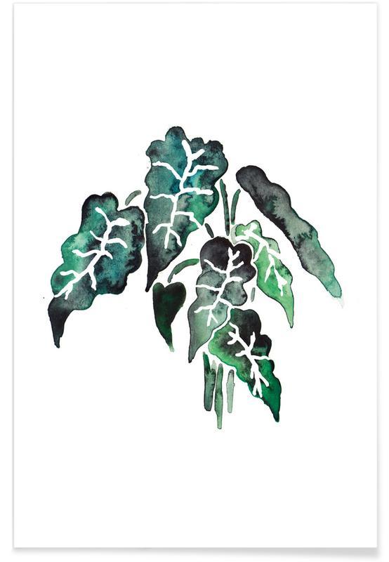 Bladeren en planten, Plant 6 poster