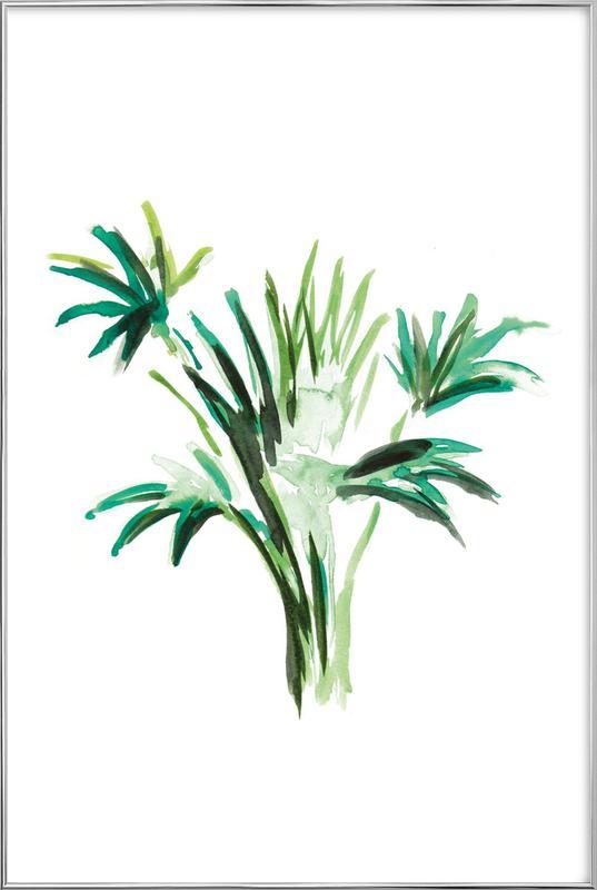 Plant 8 Poster in Aluminium Frame