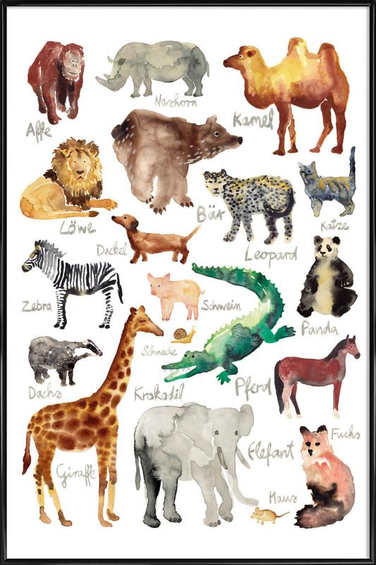 The Animal Kingdom Framed Poster