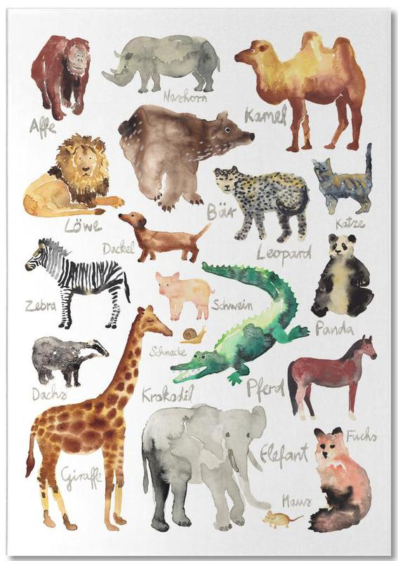 The Animal Kingdom bloc-notes