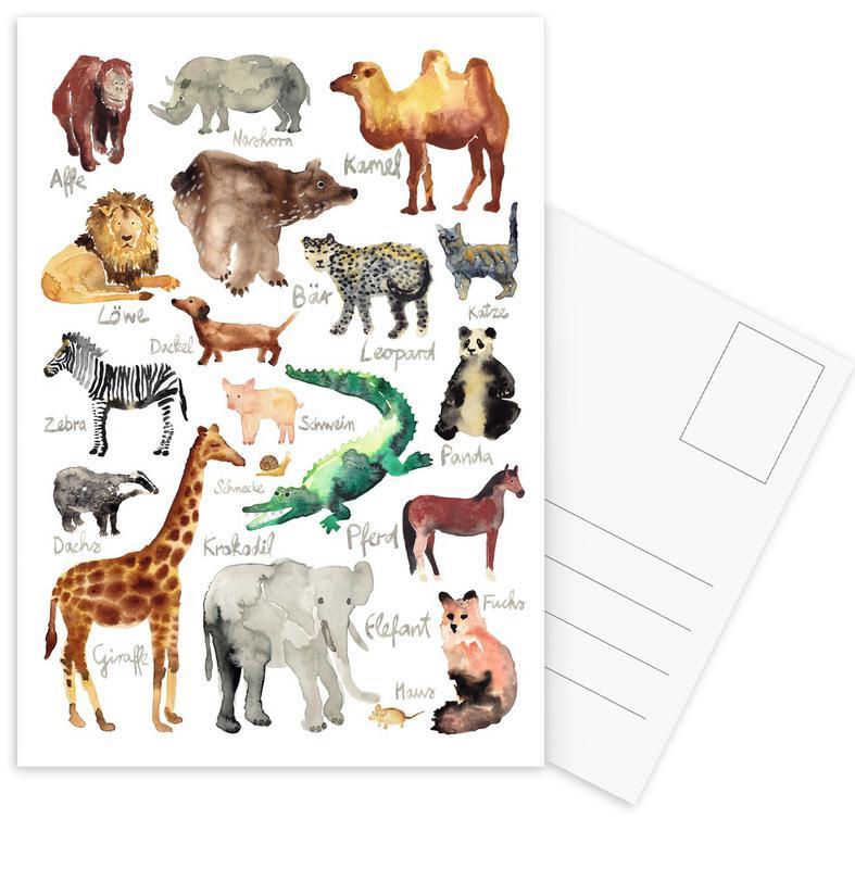 The Animal Kingdom cartes postales