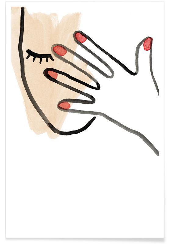 Hidden Face -Poster