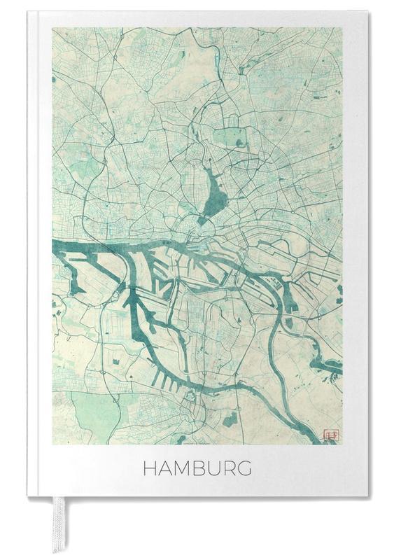 Hamburg, Stadskaarten, Hamburg Vintage agenda