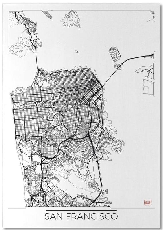 San Francisco Minimal Notepad