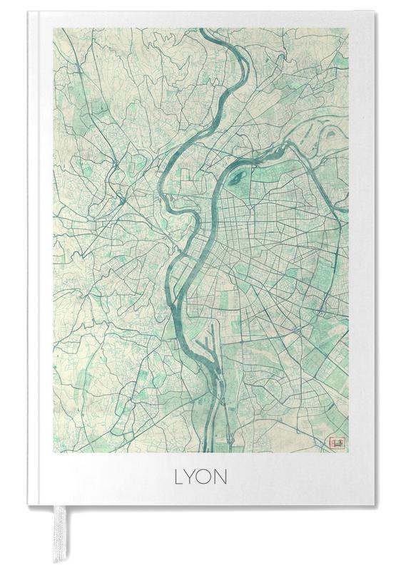 Cartes de villes, Lyon, Lyon Vintage agenda