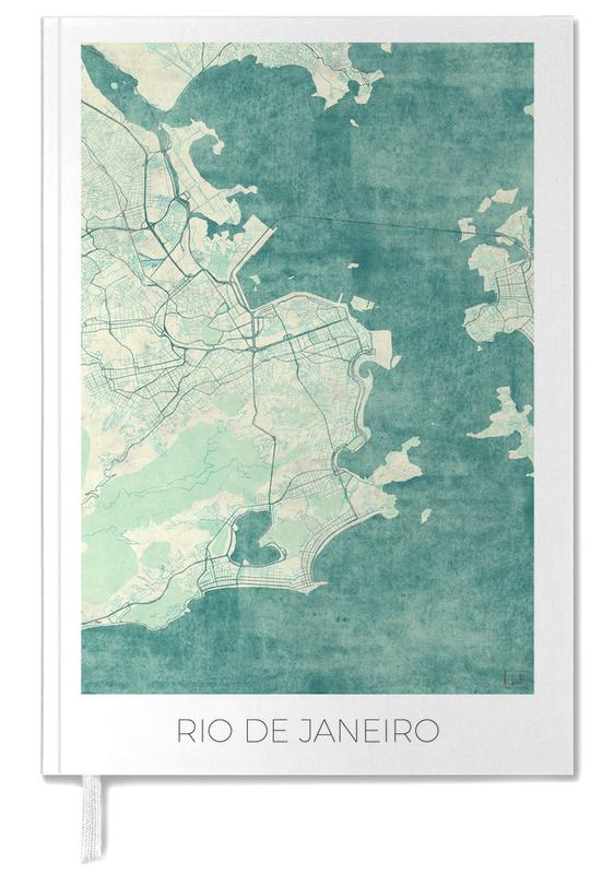 Rio de Janeiro Vintage Personal Planner