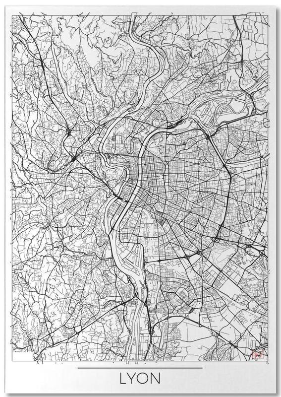 Lyon Minimal bloc-notes