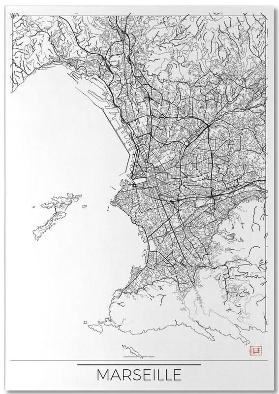 Marseille Minimal Notepad