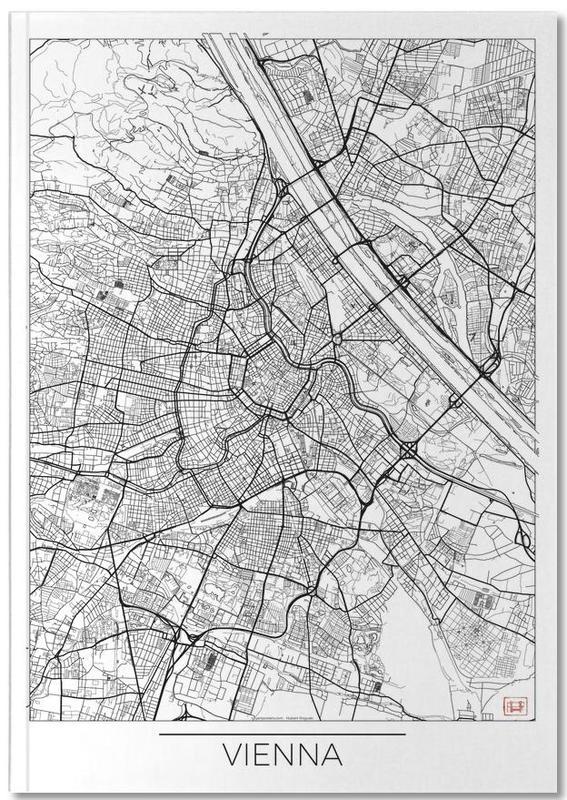 Vienne, Cartes de villes, Vienna Minimal Notebook