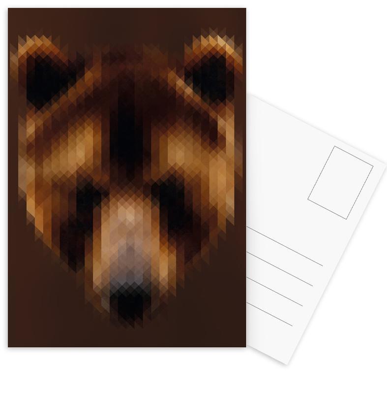 Bear Postcard Set
