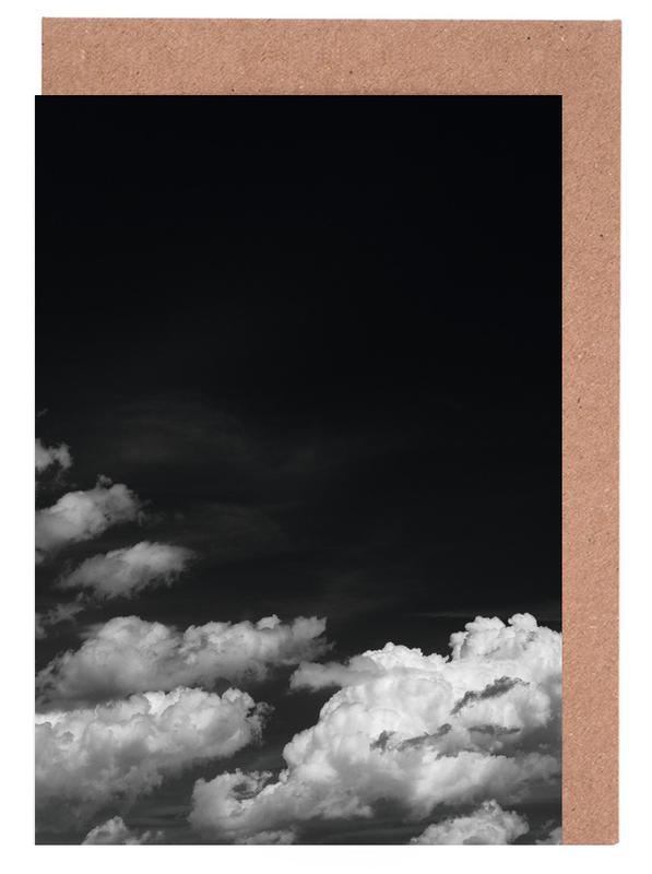 Black Sky Greeting Card Set