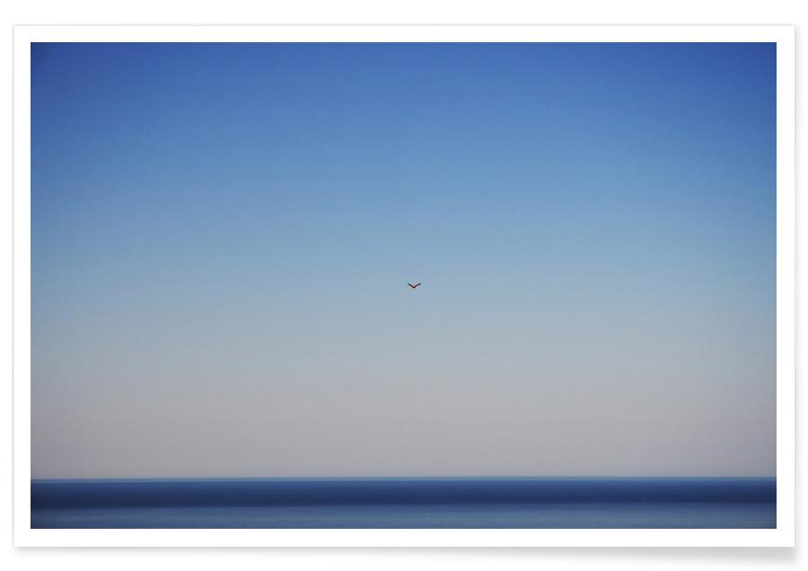 Lucht en wolken, Free Flight poster