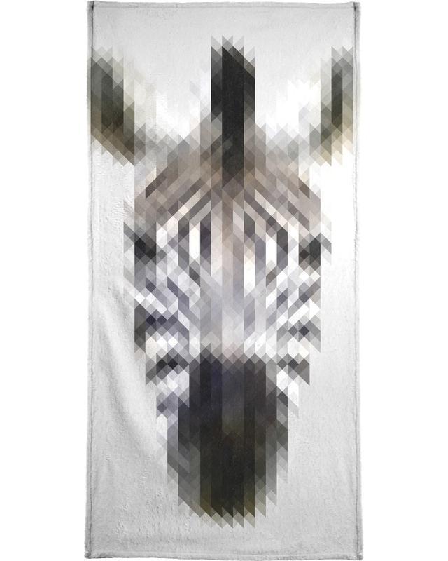 Zèbres, Animaux de safari, Zebra serviette de bain