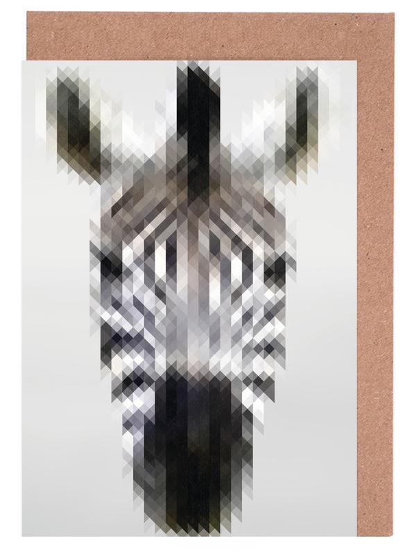 Zebra cartes de vœux