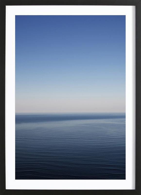 The Open Ocean 1 affiche sous cadre en bois