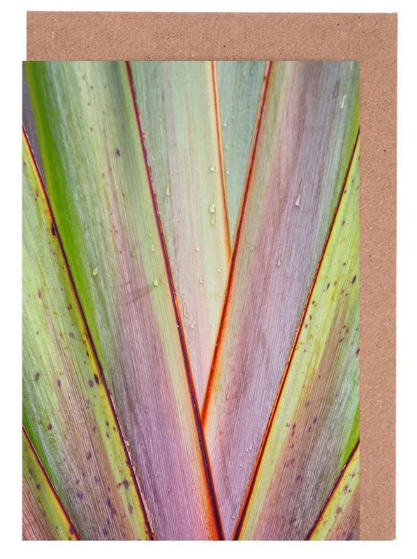Flax Pattern Greeting Card Set