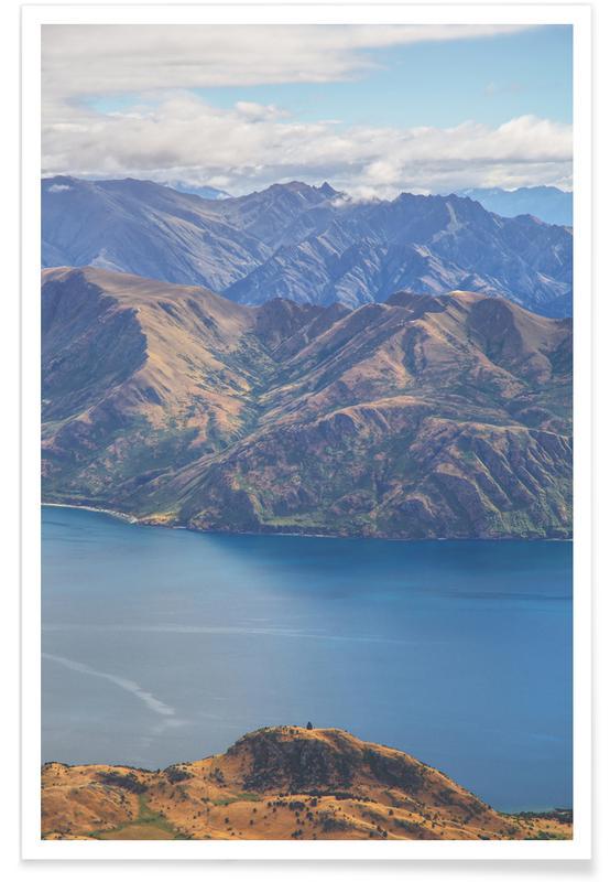 Roys Peak Lookout affiche