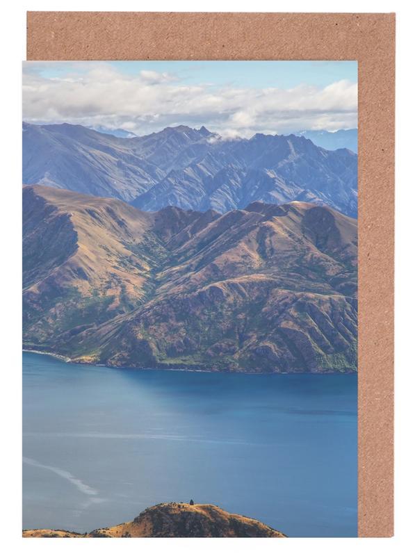 Roys Peak Lookout Greeting Card Set