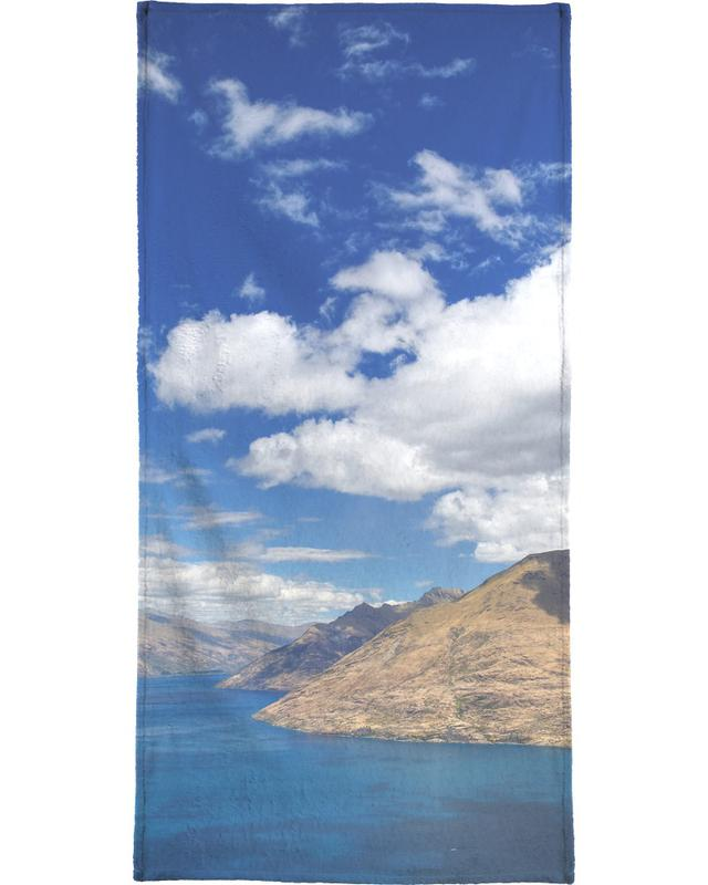 Skyline Queenstown Beach Towel