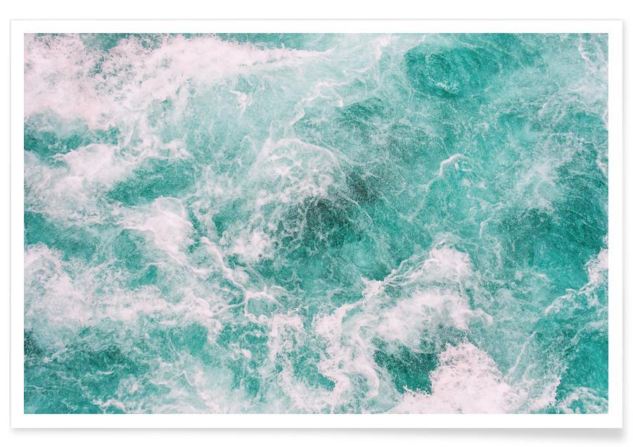 Oceanen, zeeën en meren, Reizen, Whitewater 3 poster