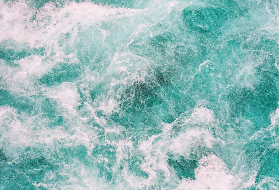 Whitewater 3 -Acrylglasbild
