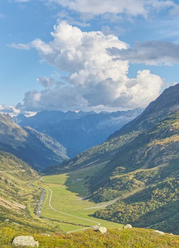 Swiss Valley -Leinwandbild
